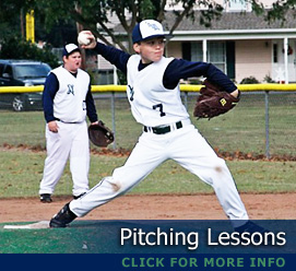 Pitching & Hitting Lessons